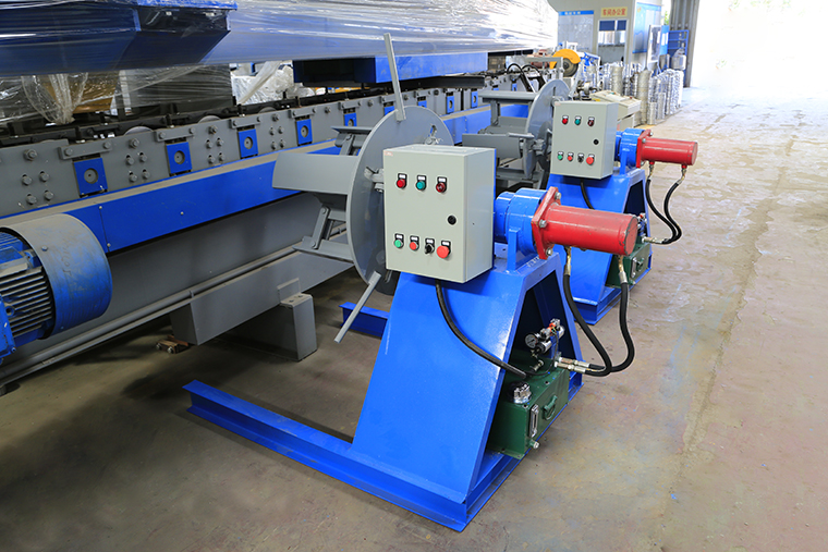 roll forming machine decoiler