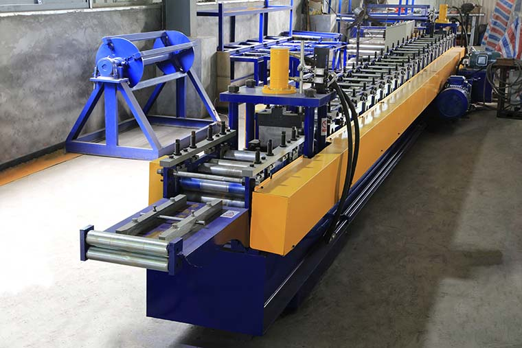 C Type Steel Purlin Roll Forming Machine