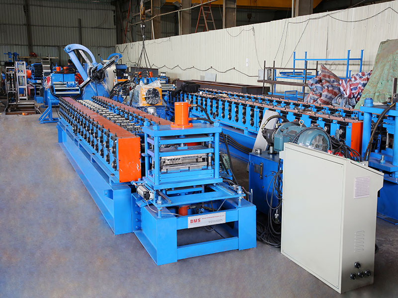 Shelf Panel Layer Roll Forming Machine
