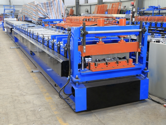 Floor Decking Roll Forming Machine for YX50-200-600 Profile