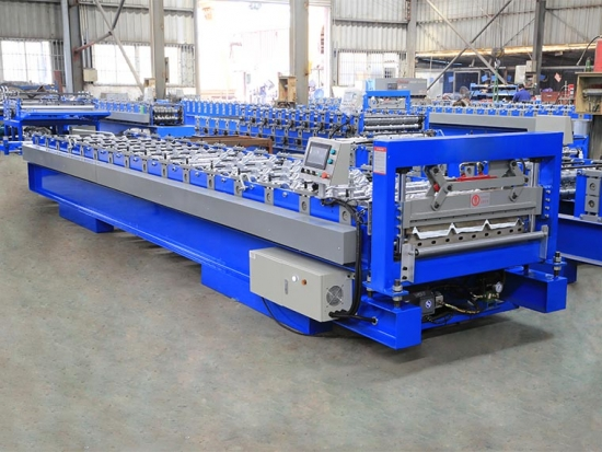 YX35-273-820 Roof Panel Roll Forming Machine
