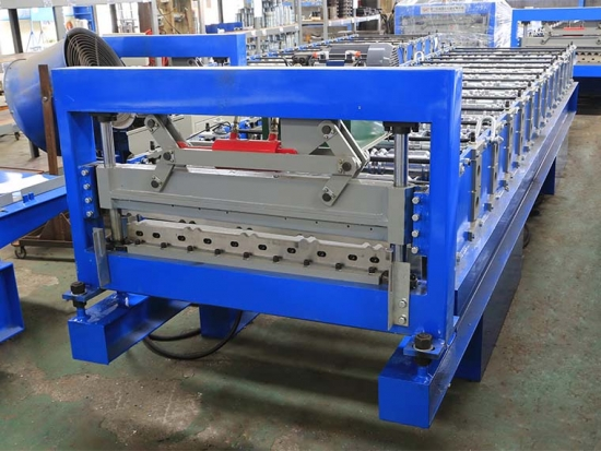 Roof Panel Roll Forming Machine For YX10-900