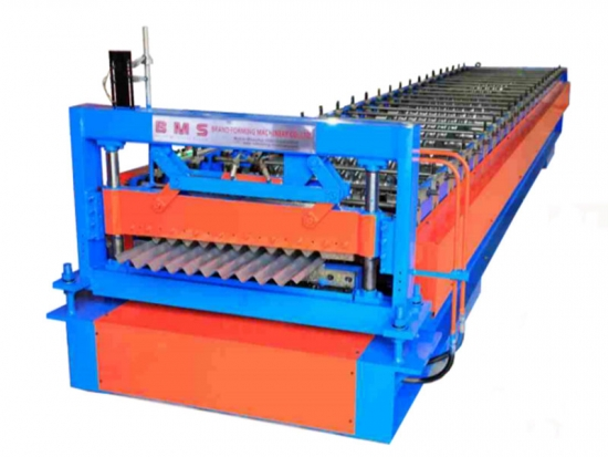 Thin Sheet Corrugated Panel Roll Forming Machine