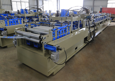 cz purlin roll forming machine (pre-cutting, pre-punching)