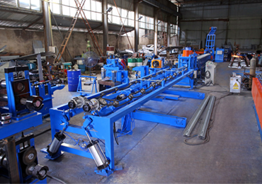 w beam crash barrier roll forming machine (korea new style)